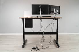 standing desk cable management wire management explained for standing desks and more