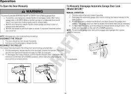 Opening Garage Door Without Power by 1d8169 1 Myq Garage Door Opener User Manual 114a4831 Chamberlain