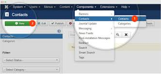 how to create joomla contact joomla templates and extensions