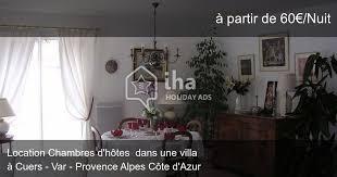 chambre d hote cuers chambres d hôtes à cuers iha 34926