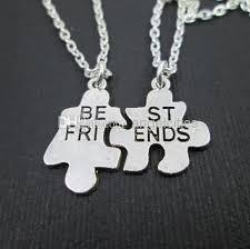 best friends puzzle necklace images Wholesale friends necklaces best friends necklace puzzle necklace jpg