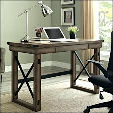 Rustic Wood Office Desk Rustic Office Desk Made Wood And File Storage By Abodeacious