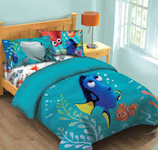 disney finding dory fish finder comforter set w fitted sheet