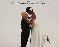 bald groom cake topper bald groom etsy