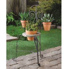 cafe chair planter