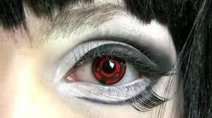 halloween contacts non prescription madara anime contact lenses youtube