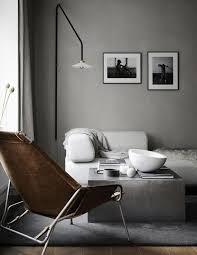 Gray Interior | concrete gray interior design color schemes inspiration by color