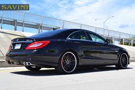 chrome benz cls savini wheels