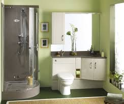 Small Bathroom Decorating Small Bathroom Decorating Ideas With Lime Green Wall Decoration