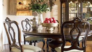 Thomasville Dining Room Table And Chairs by Hills Of Tuscany Dining Collection American Home Furniture And