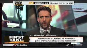 espn u0027s max kellerman has all the answers for thursday night
