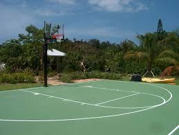 Build A Basketball Court In Backyard Basketball Court Construction Asphalt Basketball Court