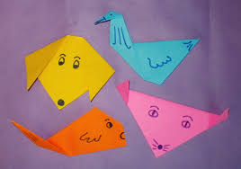 Origami Pets - children s museum of 盪 studio projects