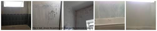 bathroom project part two painting walls u0026 tiles a home made by