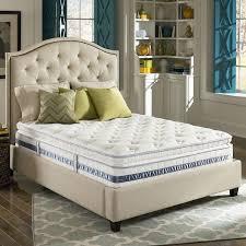 Pillow Topper Bedroom Green Striped Pillow Wooden Floor Grey White Decirative