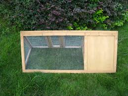 Rabbit And Guinea Pig Hutches Wooden Outdoor Triangle Rabbit Hutch And Run Guinea Pig Ferret