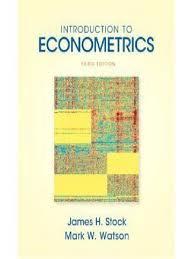 introduction to econometrics stock watson 3ed 0138009007