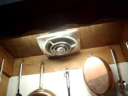 kitchen exhaust fan nutone and jenn aire kitchen exhaust fans youtube