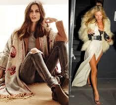 moda boho el nuevo boho la tendencia de moda invierno 2015 que