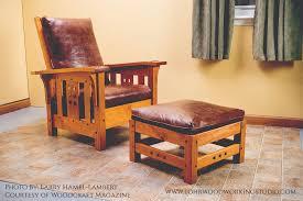 Chair W Ottoman Morris Chair Ottoman Lohr Woodworking Studio