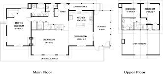 coastal house floor plans house plans coastal linwood custom homes