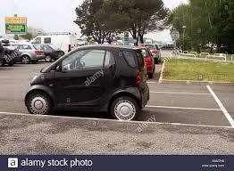 mercedes city car smart car small parking space city efficient tiny
