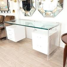 Diy Glass Desk How To Build A Desk With Drawers It Guide Me