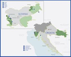 Map Of Italy And Croatia by The Gray Report Croatian And Slovenian Wines A Cross Border Tasting