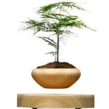 le de bureau a led pas cher plante en pot en bois suspendus magnétiques avec led pour la