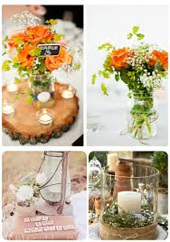 rustic center pieces 7 easy rustic wedding reception ideas uniquely yours wedding