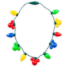 christmas light necklace your wdw store disney light up necklace happy holidays