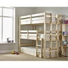 Three Level Bunk Bed Bunk Beds Wayfair Co Uk
