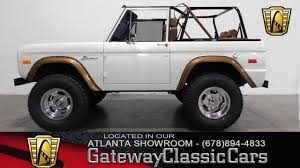 baja bronco 1996 1971 ford bronco 4x4 gateway classic cars of atlanta 474 youtube