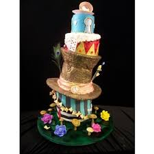alice in wonderland cakes polyvore