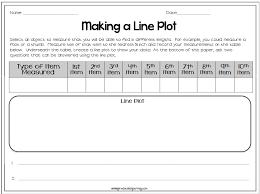 great line plot lesson thirdgradetroop com pinterest a line