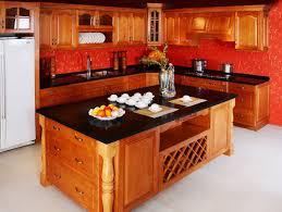 Panda Kitchen Cabinets Simple Craftsman Kitchen With Oak Raised Door Panels Panda Kitchen