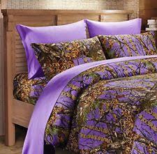 Purple Camo Bed Set Regal Comfort Sheet Sets Ebay