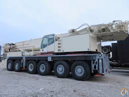 demag ac535 ac180 200 ton 6 axle crane with 197 feet main boom