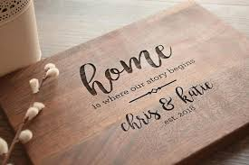 engraved wedding gifts personalized cutting board engraved cutting board custom cutting bo