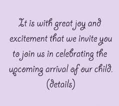 5 lovely exles of wording for your shower invites disney baby