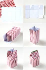 template diy diy printable milk gift boxes gathering