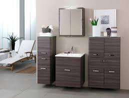 badezimmer set günstig badmöbel set korpus und front in eiche dunkel nb held