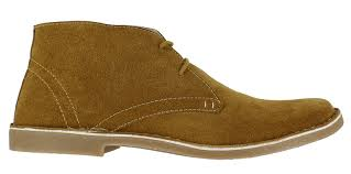 lambretta carnaby mens classic suede mod ska lace up desert boots
