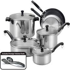 farberware complements dishwasher safe stainless steel 13 piece