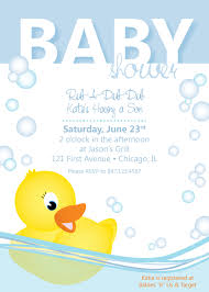 rubber ducky baby shower invitations reduxsquad com