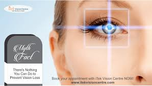 eye pain from light there s nothing you can do to prevent vision loss myth at the very