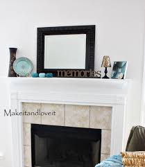 decorate my home part 11 fireplace mantel make it and love it