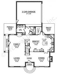 Narrow House Plans With Garage Purdue Narrow House Plan Texas Style House Plan