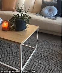 Cable Knit Rug New Kmart Home Decor Range Scandi Shoe Rack Furniture Daily Mail