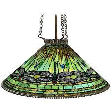 Chandelier New York Tiffany Studios New York Glass And Bronze